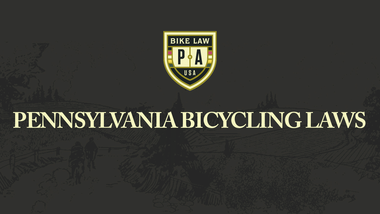 Pennsylvania Bicycling Laws