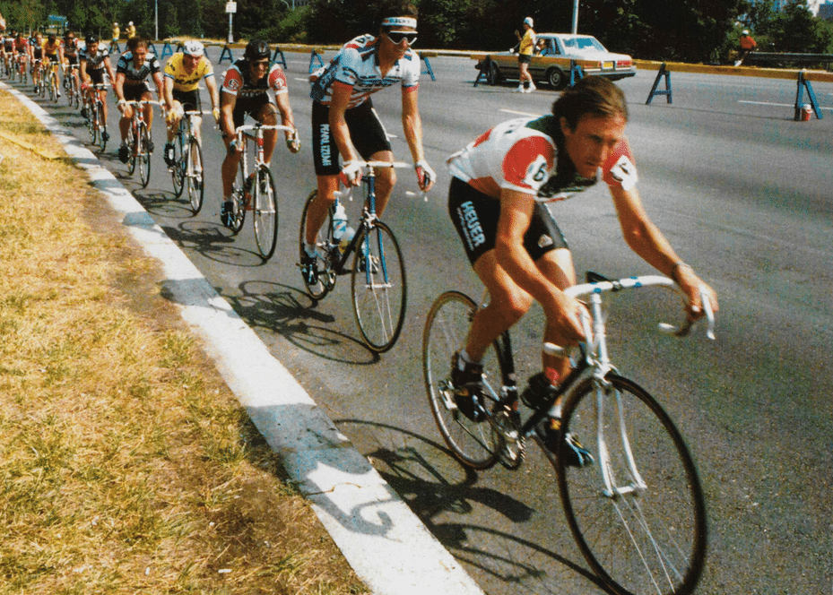 First Philadelphia International Cycling Classic in 1985