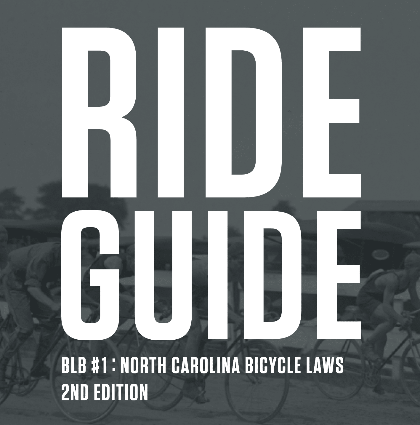 NC Bike Law Book